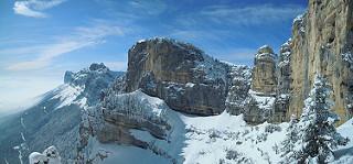 Aulp du Seuil sous la neige