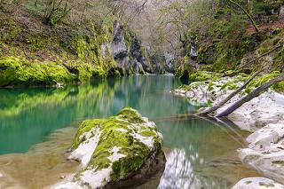 Grotte du Prerouge dans les Bauges
