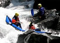 La vallée du Giffre : rafting et eaux vive à Sixt Fer à Cheval et Samoëns