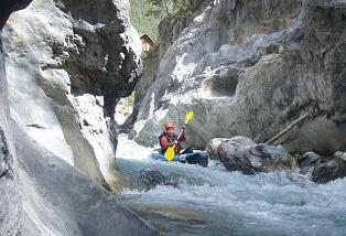 rafting alpes