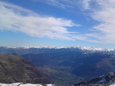 Absence de neige dans les Alpes