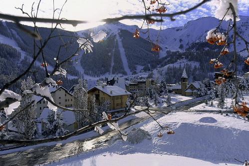 Soleil assur� sur la station de ski d'Auron