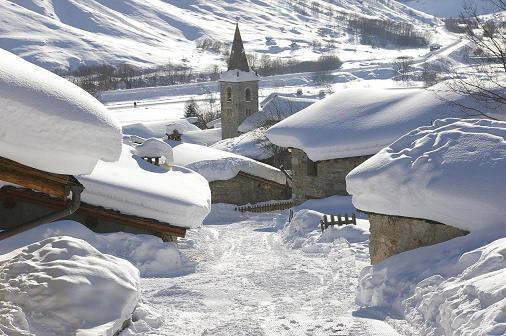Ski jusqu'à fin avril à Bonnevel sur Arc
