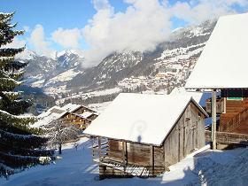 ski en couple à Châtel
