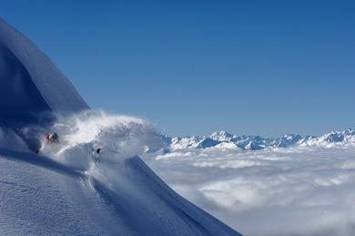 Ski en avril à La Rosière