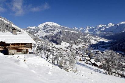 Station de ski en amoureux au Grand Bornand