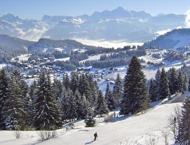 station ski Praz de Lys Sommand