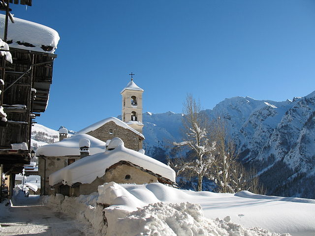 Photo de la station de ski familiale de Saint Véran