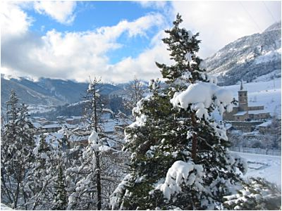 La fraicheur de Val Cenis permet de bien conserver la neige assez tard