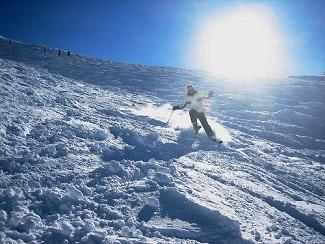 stations de ski ensoleillées