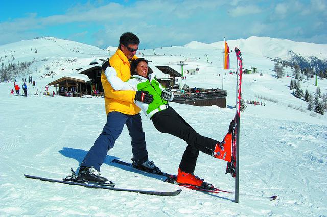 Sauna en amoureux en vacances au ski ?
