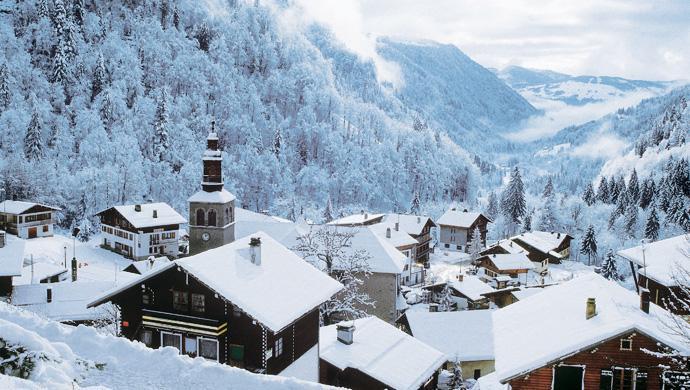 station ski La Giettaz