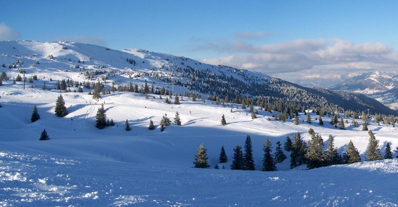 station ski Les Aillons Margeriaz